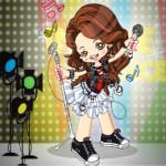 Pop Star öltöztetős játék