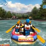 Rafting ügyességi játék