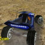 3D autocross verseny autós játék