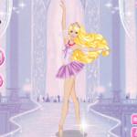 Balettos Barbie öltöztetős Barbie játék