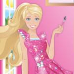 Barbie mint festő művész Barbie játék