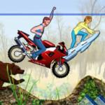 Moto rush motoros játék