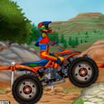 Quad trial ügyességi motoros játék