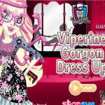 Vipera Gorgon öltöztetős Monster high játék
