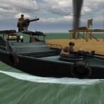 A hajó katonái lövöldözős játék