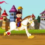 Bajba esett hercegnő lovas játék