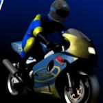 Egy kerekezés motoros játék