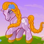 Én kicsi pónim átváltozása lovas játék