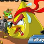 Harcos madár Angry Birds játék