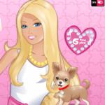 Kirakós szett Barbie játék