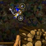 Motoros bemutató motoros játék