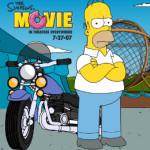 Motoros Simpson papa motoros játék