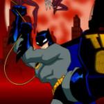 Szuper hős Batman verekedős játék
