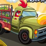 Transport autós Angry Birds játék