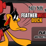 Daffy Duck Box verekedős játék
