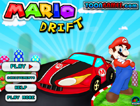 Mario-drift-autos-jatek