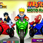 Naruto moto race motoros játék
