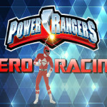 Power Rangers Hero Racing motoros játék
