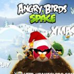 Space Xmas Angry Birds játék