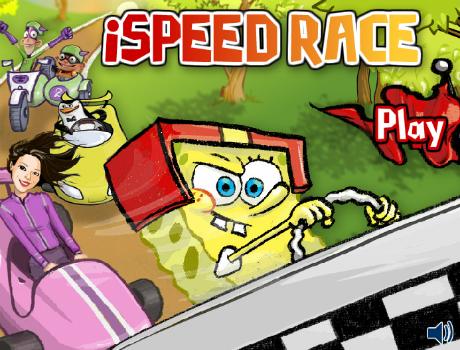 Speed-race-spongyabob-autos-jatek