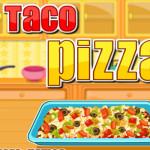 Taco pizza főzős játék