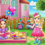 Beteg gyermek Barbie játék