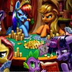 Én kicsi pónim kép kirakós lovas játék