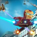 Lego Iron Man lövöldözős játék