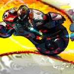Moto racing motoros játék