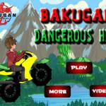 Veszélyes hegyek motoros játék