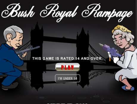Bush-Royal-Rampage-lovoldozos-jatek