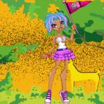 Gilda öltöztetős Monster high játék