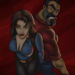Jaqueline és Miguel lövöldözős játék
