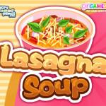 Lasagna soup főzős játék