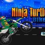 Ninja teknős motoros játék
