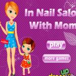 Anya és lánya öltöztetős játék