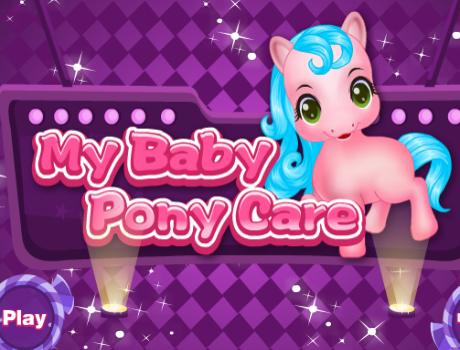 my-baby-pony-care-lovas-jatek