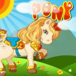 Pony Care lovas játék