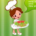 Rák sali készítés főzős játék