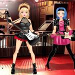 Rock sztár banda öltöztetős játék