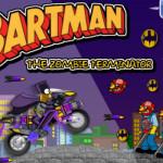 Szuper Bartman motoros játék