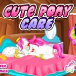 Cute Pony Care lovas játék