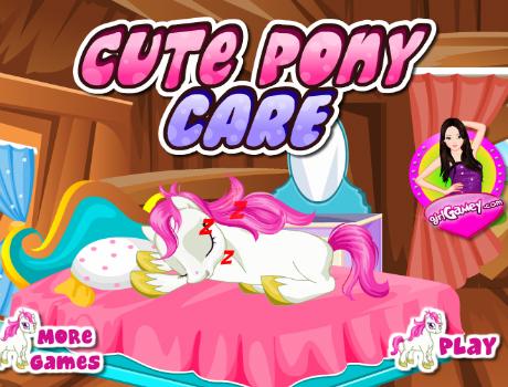 cute-pony-care-lovas-jatek