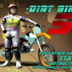 Dirt bike motoros játék