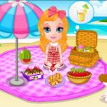 Piknikezés Barbie játék