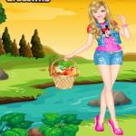 Piknikezős Barbie játék