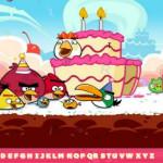 Rejtett ABC Angry Birds játék