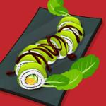 Sushi készítés főzős játék