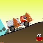 Tűzoltó autós játék