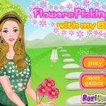 Barbie mint anyuka öltöztetős játék
